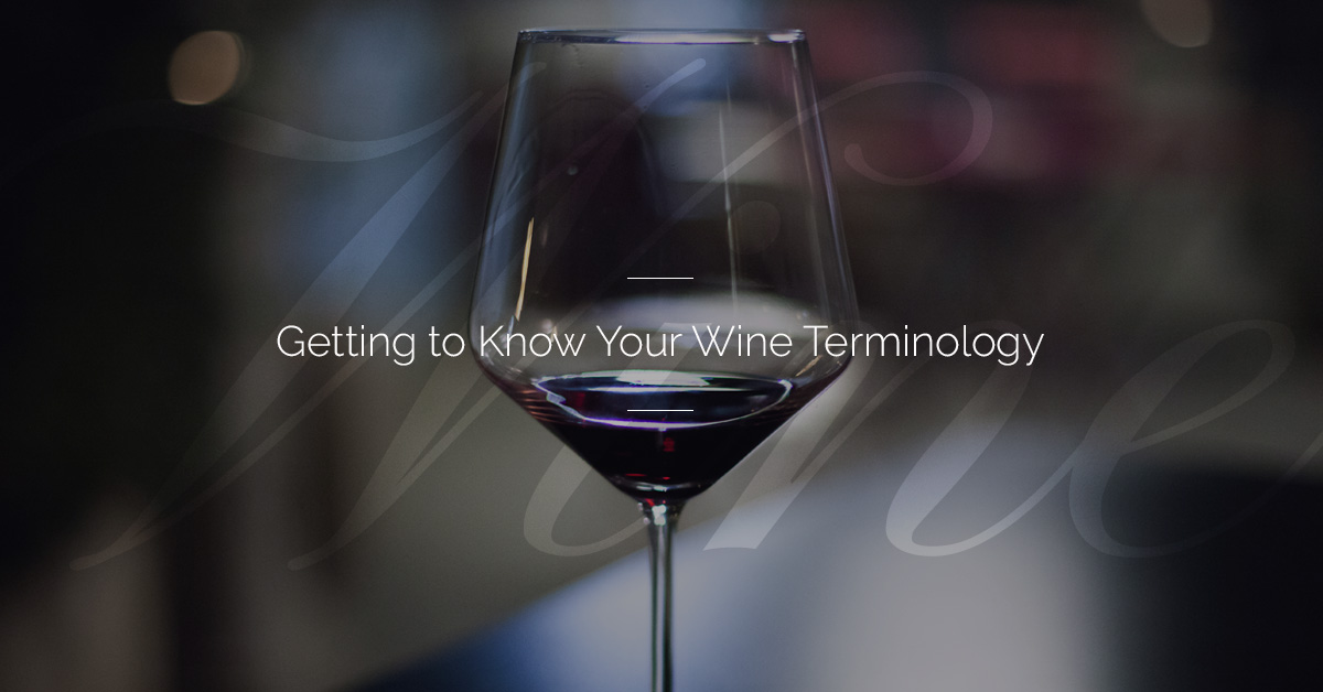 Wine terminology 101 common terms to know for wine tasting eventsenjoie imagine this youre invited to a wine tasting event by your best friend significant other or a family member just as you begin to picture yourself solutioingenieria Images